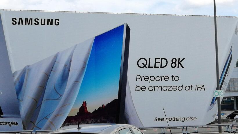 غول ۱۷۵ اینچی LG تا تلویزیون ۸K سامسونگ